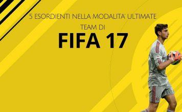 esordio Fifa 17 FUT