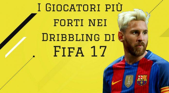 Fifa 17 più forti nei dribbling