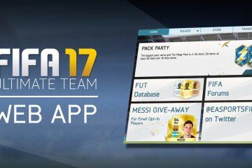 fifa 17 web app