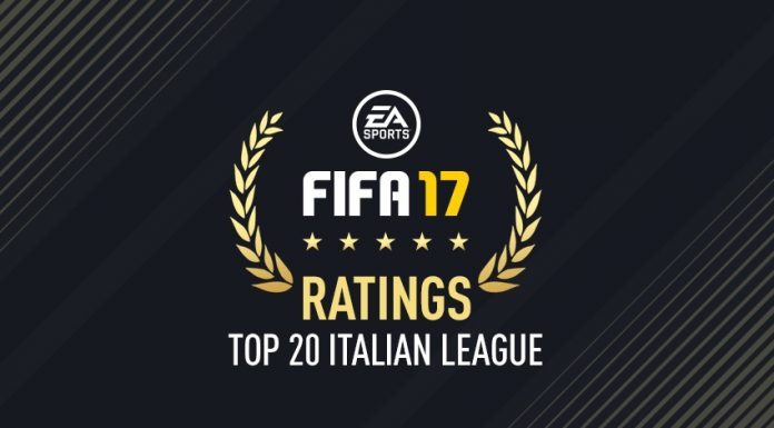 Serie A Top 20 Fifa 17