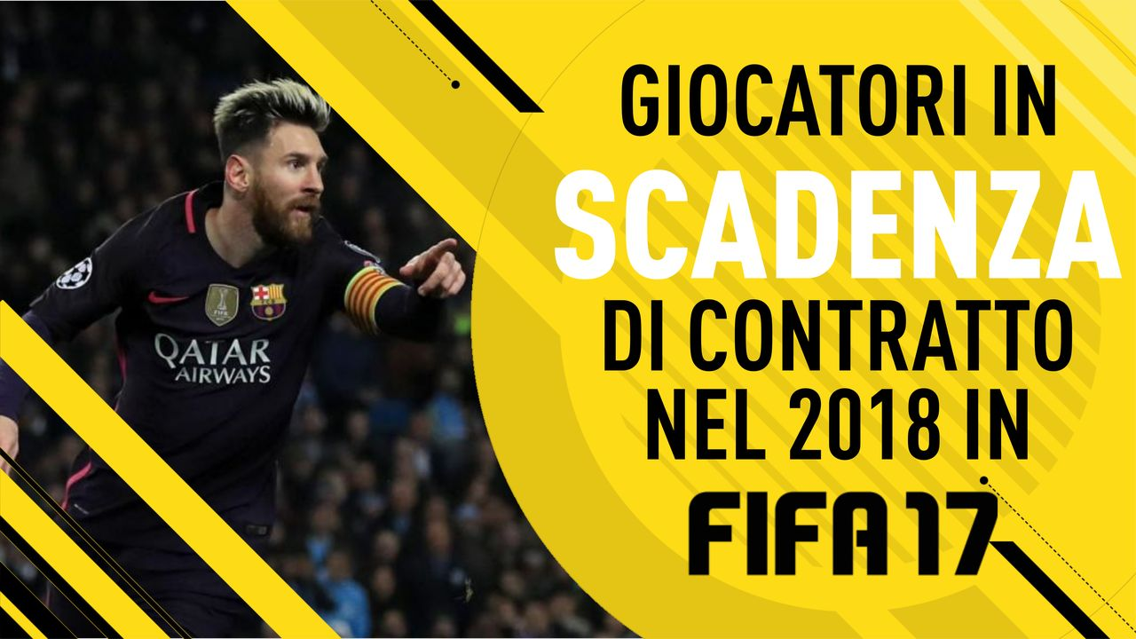 Fifa 17 Giocatori in scadenza di contratto nel 2018