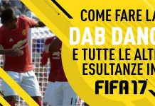Esultanze Fifa 17 come fare la dab