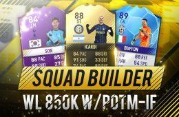 Squad Builder 850k Fifa 17