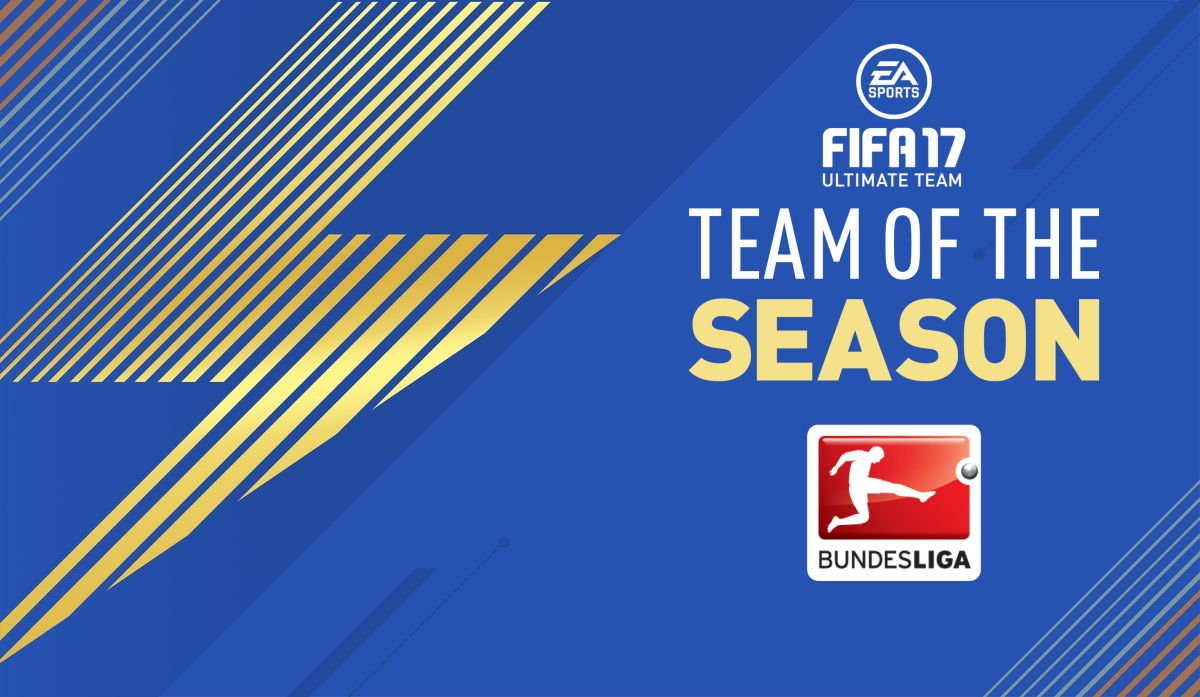 TOTS Bundesliga Fifa 17 Ultimate Team