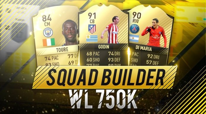 Squad Builder 750K WL