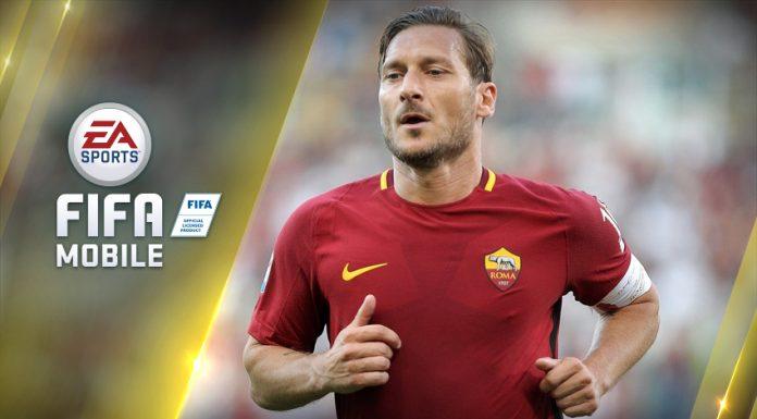TOTW Fifa Mobile TOTTI