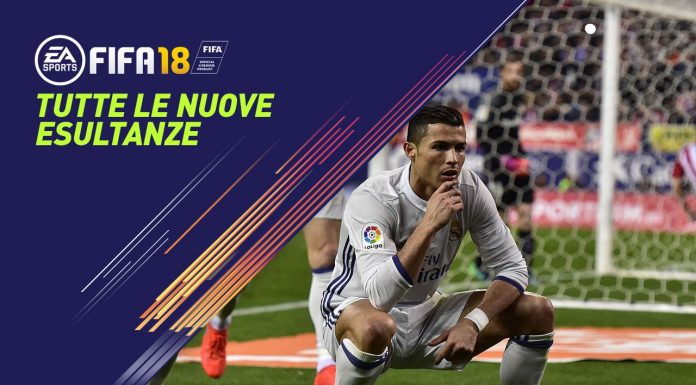 Esultanze Fifa 18
