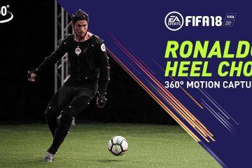 Cristiano Ronaldo Heel Chop