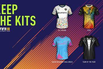 Fifa 18 Divise kit FUT