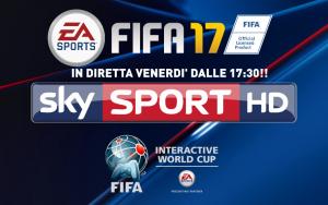 Fifa Interactive World Cup: le finali di venerdì saranno trasmesse in diretta su Sky!
