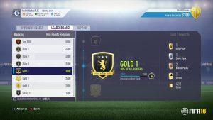 Fifa 18 Squad Battles |  nuove sfide giocatore singolo settimanali con cui vincere