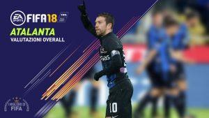 Fifa 18 |  le valutazioni overall dei giocatori dell'Atalanta