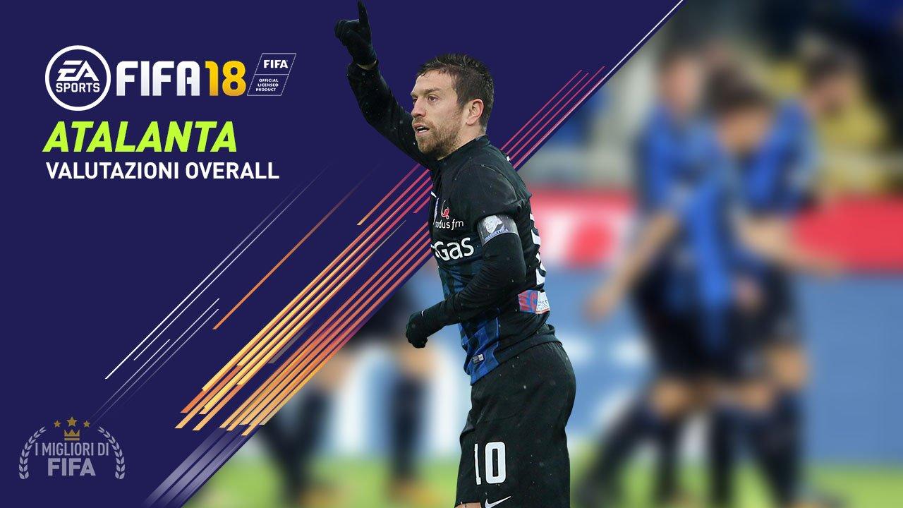 FIFA 18 Atalanta Valori Overall giocatori