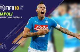 FIFA 18 Valori giocatori Napoli Overall