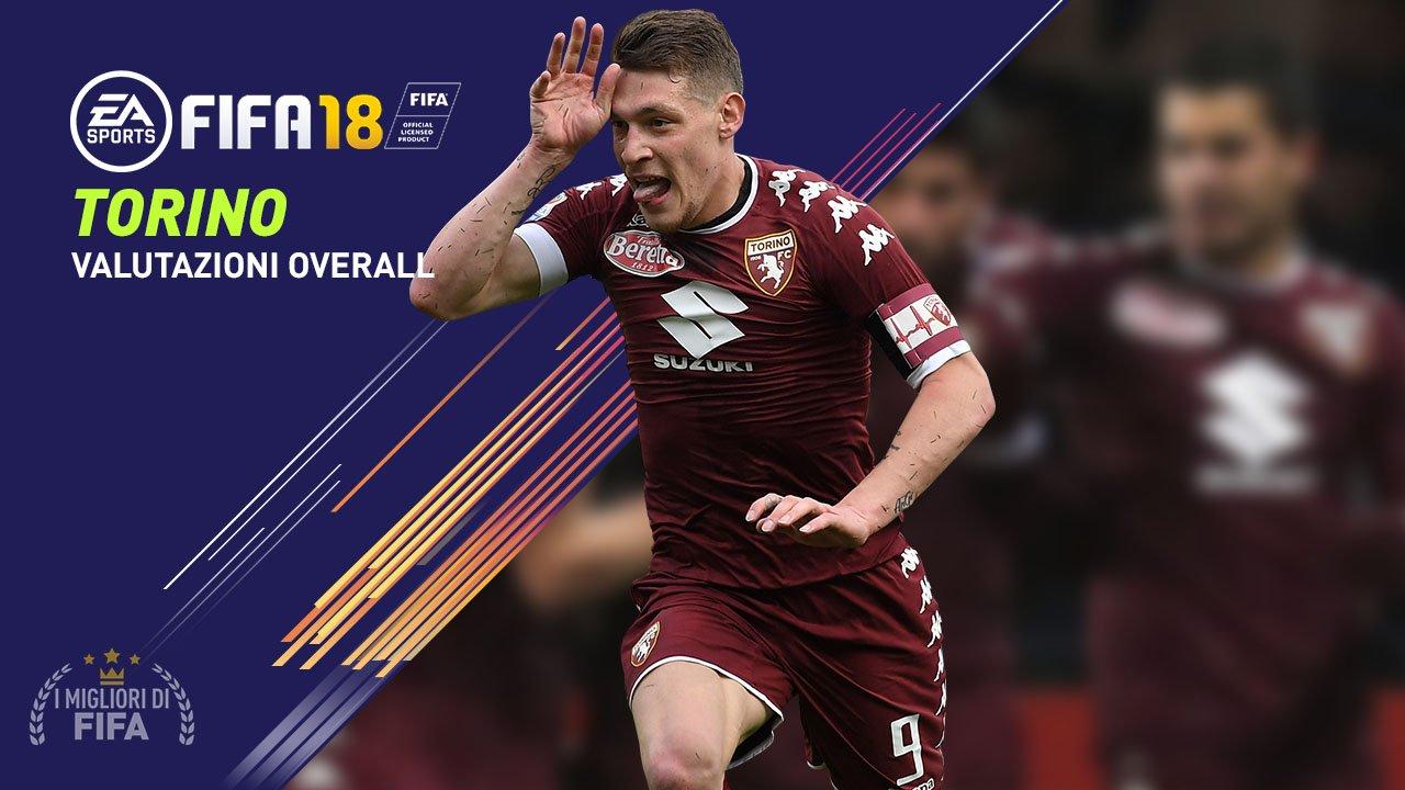 Fifa 18 Torino Valori Overall