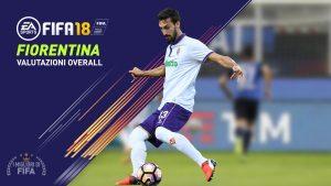 Fifa 18 |  le valutazioni overall dei giocatori della Fiorentina