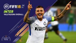 Fifa 18: le valutazioni overall dei giocatori dell'Inter
