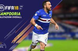 Fifa 18 Sampdoria Valori Giocatori Overall