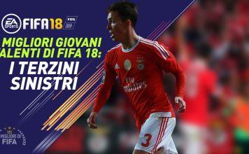 Talenti Fifa 18: Terzini Sinistri giovani
