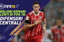 Fifa 18 Talenti Giovani difensori centrali