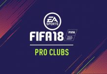 Pro Clubs FIfa 18