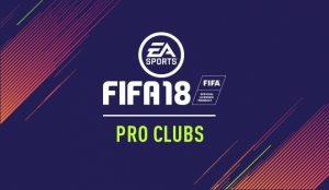Fifa 18 |  le novità della modalità Pro Clubs
