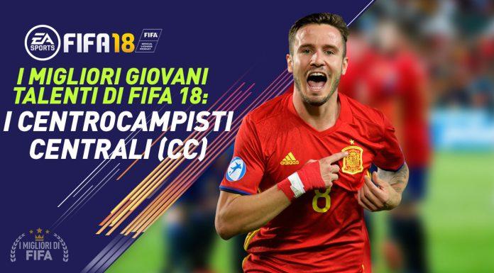 Talenti Fifa 18 CC Centrocampisti