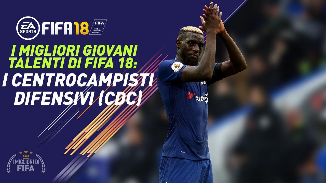 Fifa 18 Talenti CDC Centrocampisti