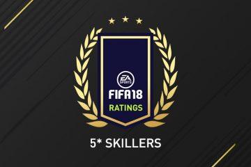5 stelle skill Fifa 18