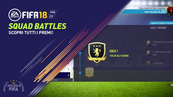 Premi Squad Battles Fifa 18