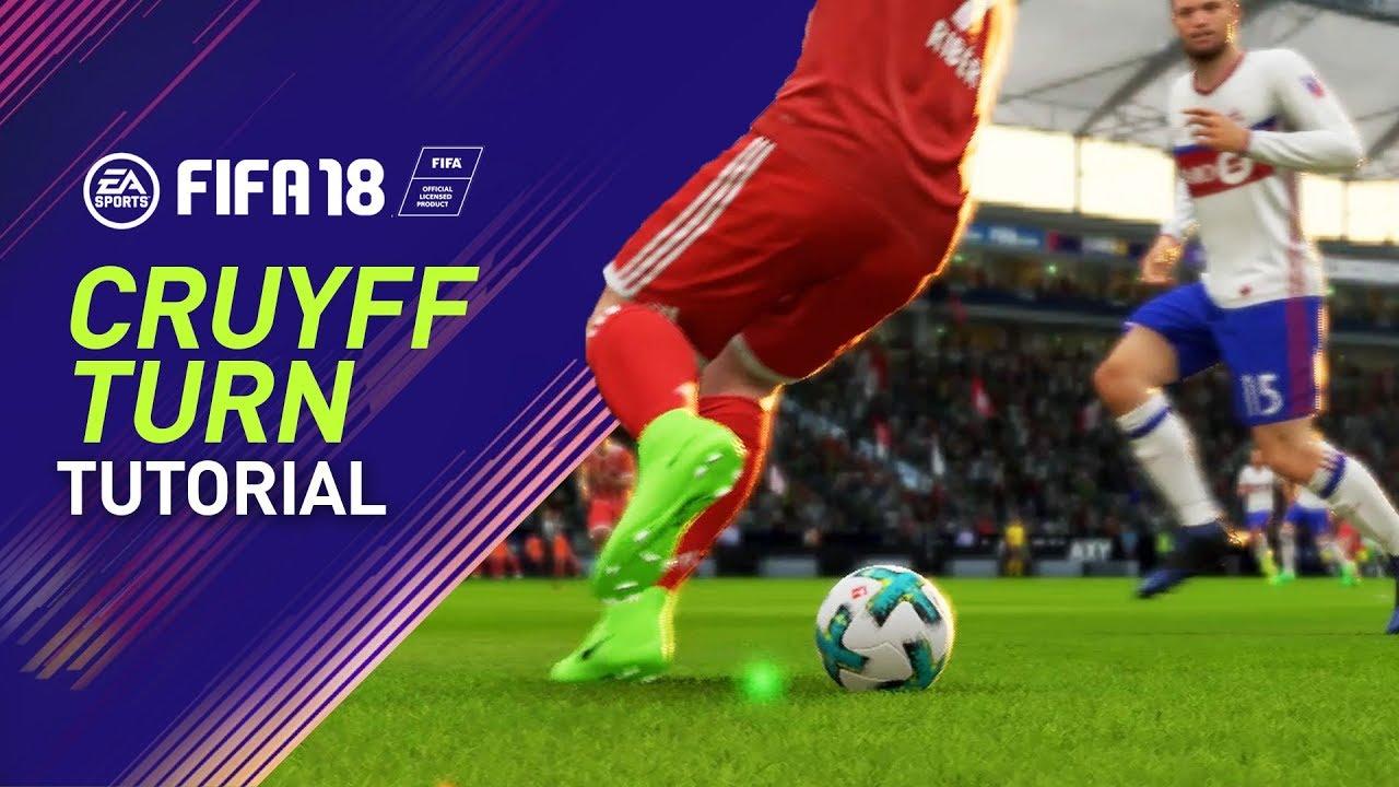 Cruyff Turn Fifa 18 Skill