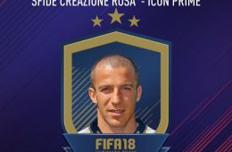 Sfida Creazione Rosa Del Piero Fifa 18 Icon Prime SBC