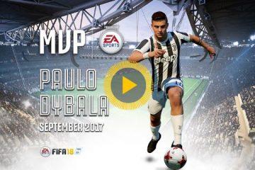 Dybala MVP settembre Fifa 18