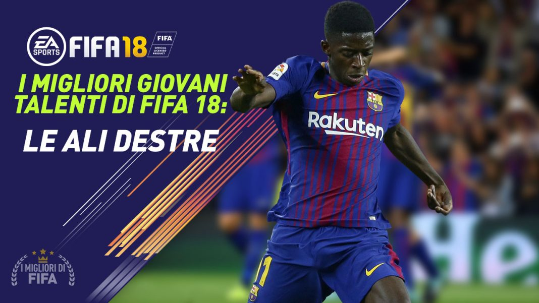 Fifa 18 Ali destre Giovani Talenti