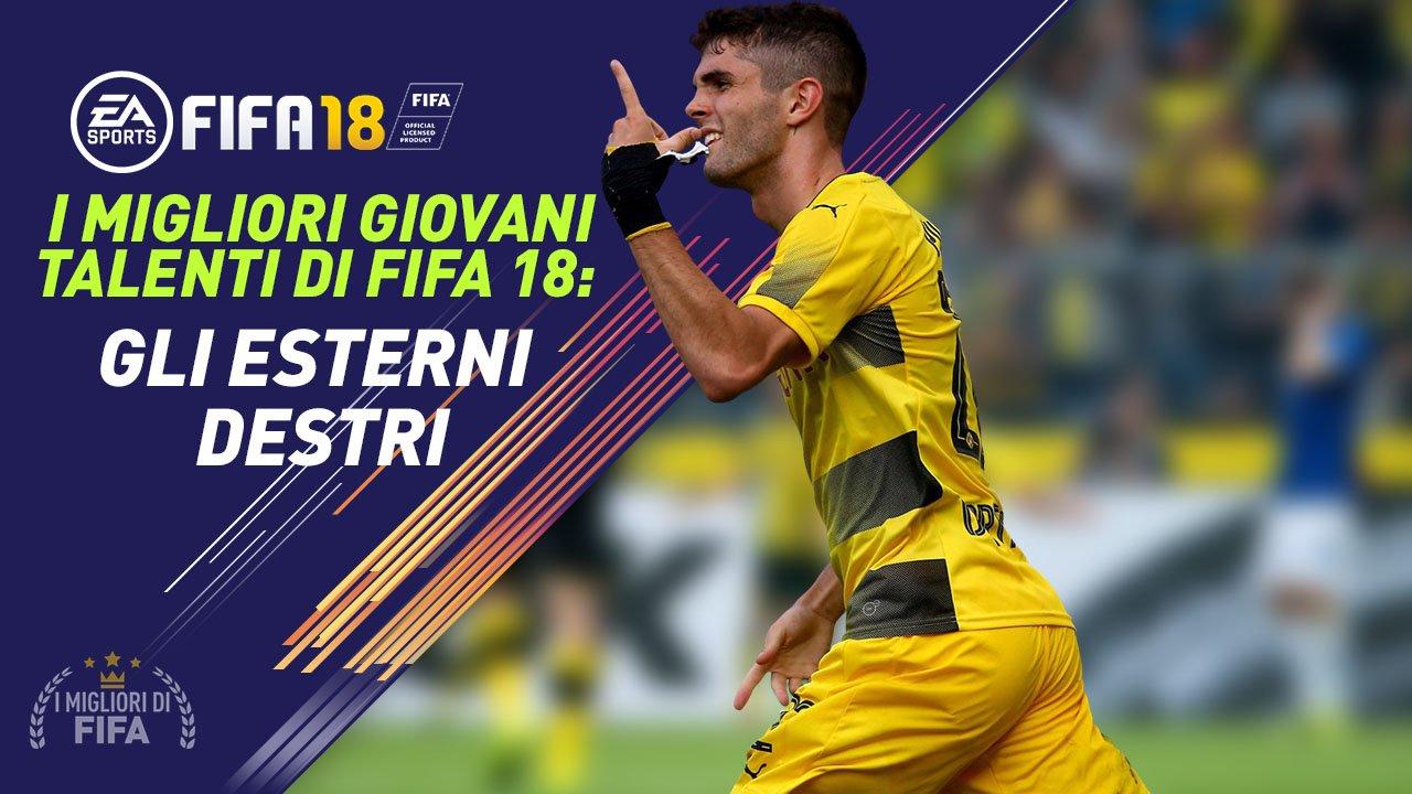 Talenti Fifa 18 Esterni Destri Giovani
