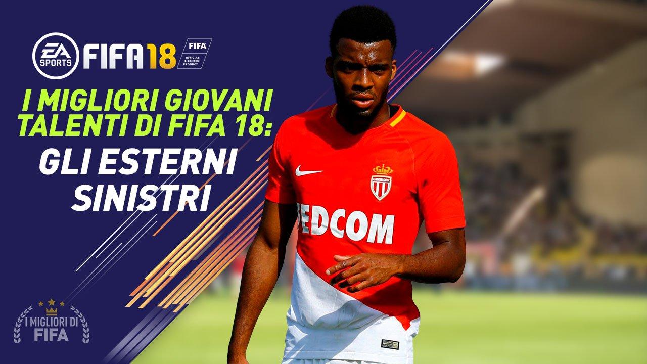 Talenti Fifa 18 Esterni Sinistri