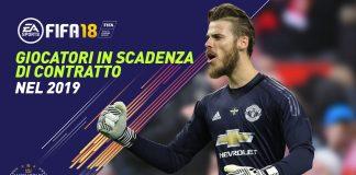 Fifa 18 Giocatori in Scadenza di contratto nel 2019