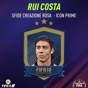 """Fifa 18 Sfida Creazione Rosa Rui Costa Icon """"Prime"""""""