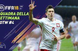 TOTW 4 - Squadra della Settimana Fifa 18