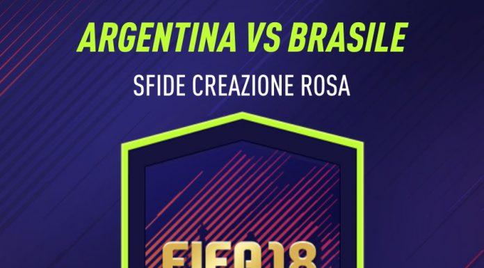 Argentina vs Brasile