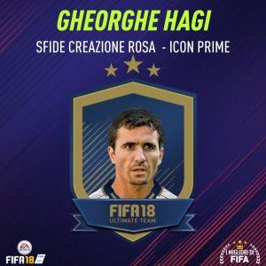 """Fifa 18 Sfida Creazione Rosa Gheorghe Hagi Icon """"Prime"""""""