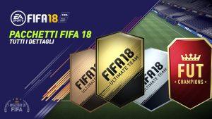 Fifa 18 |  ecco la lista di tutti i pacchetti disponibili su FUT