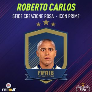"""Fifa 18 Sfida Creazione Rosa Roberto Carlos Icon """"Prime"""""""