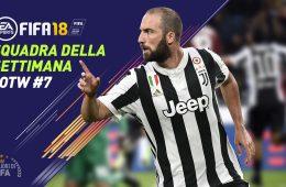 TOTW 7 Fifa 18 Squadra della Settimana