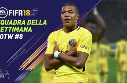 TOTW 8 Fifa 18