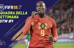 TOTW 9 Fifa 18 Squadra della Settimana