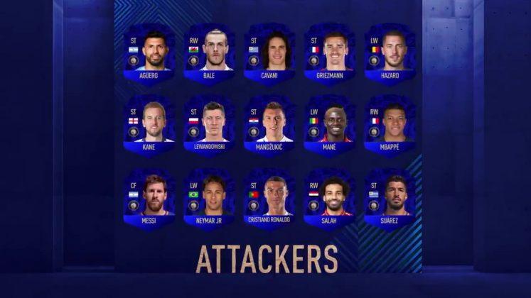 Attaccanti TOTY FIFA 19