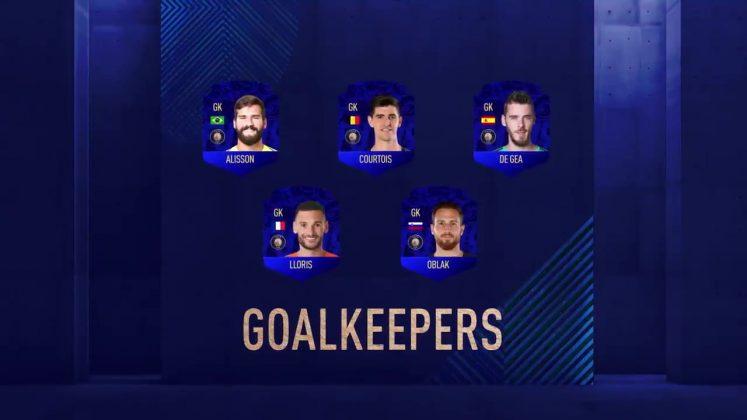 Portieri TOTY FIFA 19