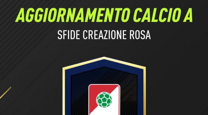 Aggiornamento Calcio A TOTY