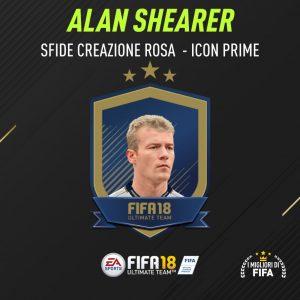 """Fifa 18 Sfida Creazione Rosa Shearer Icon """"Prime"""""""